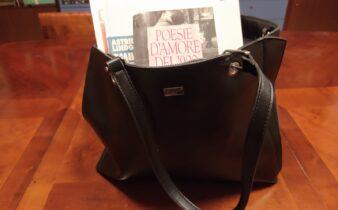 La Signorina Giulianini usciva con la borsa piena di fogli e di libri